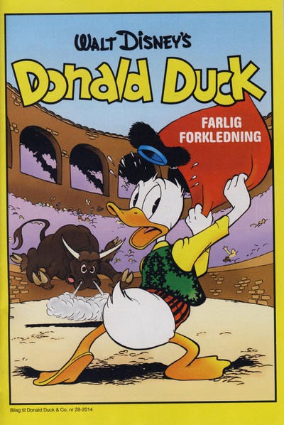 Cover for Bilag til Donald Duck & Co (Hjemmet / Egmont, 1997 series) #28/2014