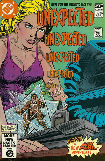Cover for The Unexpected (DC, 1968 series) #209 [Newsstand]