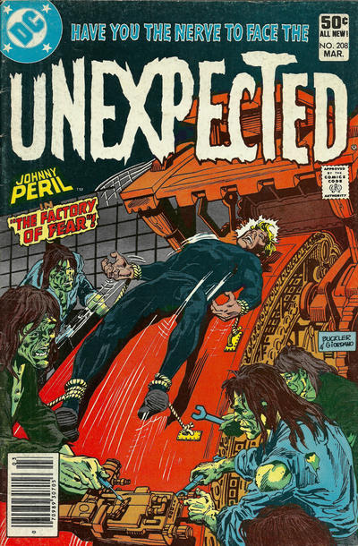Cover for The Unexpected (DC, 1968 series) #208 [Direct]