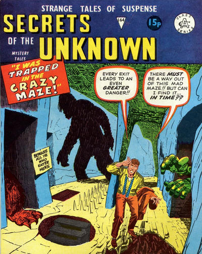 Cover for Secrets of the Unknown (Alan Class, 1962 series) #164