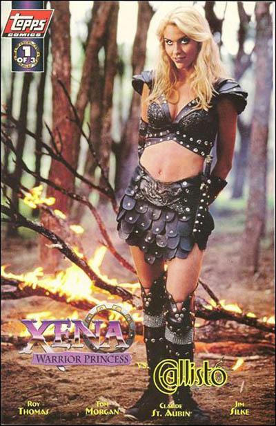 Cover for Xena: Warrior Princess vs Callisto (Topps, 1998 series) #1 [Art Cover]