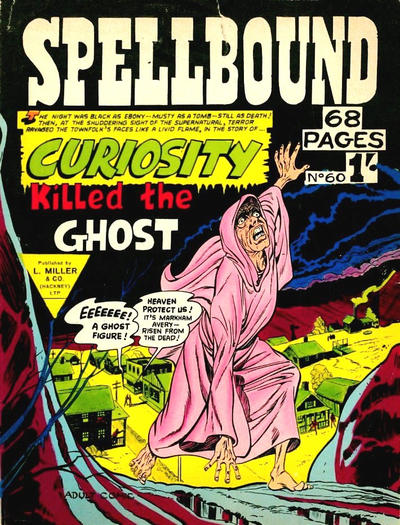 Cover for Spellbound (L. Miller & Son, 1960 ? series) #60