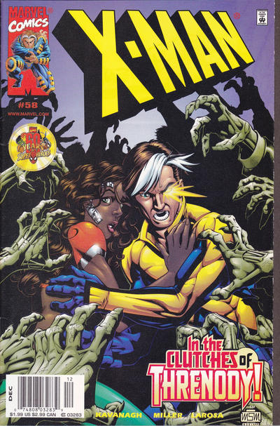 Cover for X-Man (Marvel, 1995 series) #58 [Direct Edition]