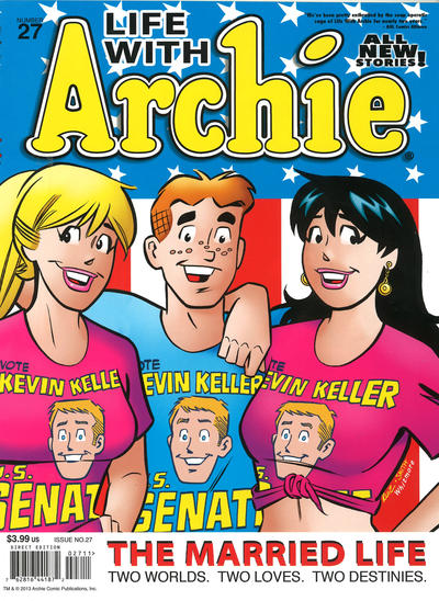 Cover for Life with Archie (Archie, 2010 series) #27 [Jughead Variant]
