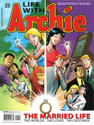 Cover for Life with Archie (Archie, 2010 series) #25