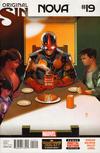 Cover for Nova (Marvel, 2013 series) #19