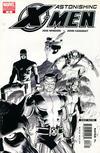 Cover for Astonishing X-Men (Marvel, 2004 series) #13 [Black and White Variant]