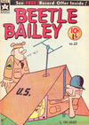 Cover for Beetle Bailey (Yaffa / Page, 1963 series) #22