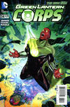Cover for Green Lantern Corps (DC, 2011 series) #34