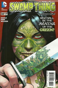 Cover Thumbnail for Swamp Thing (DC, 2011 series) #34