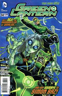 Cover Thumbnail for Green Lantern (DC, 2011 series) #34