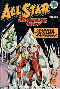 Cover Thumbnail for All Star Adventure Comic (K. G. Murray, 1959 series) #38