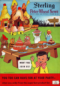 Cover Thumbnail for Peter Wheat News (Peter Wheat Bread and Bakers Associates, 1948 series) #60