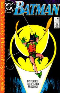 Cover Thumbnail for Batman (DC, 1940 series) #442 [Direct]
