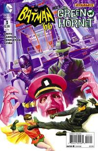 Cover Thumbnail for Batman '66 Meets the Green Hornet (DC, 2014 series) #3