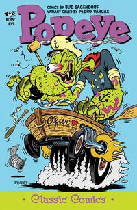 Cover Thumbnail for Classic Popeye (IDW, 2012 series) #15 [Pedro Vargas variant cover]