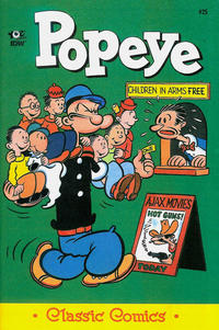 Cover Thumbnail for Classic Popeye (IDW, 2012 series) #25