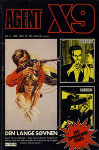 Cover Thumbnail for Agent X9 (Semic, 1976 series) #5/1980
