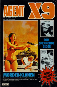 Cover Thumbnail for Agent X9 (Semic, 1976 series) #10/1980