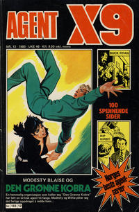Cover Thumbnail for Agent X9 (Semic, 1976 series) #12/1980