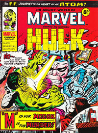 Cover Thumbnail for The Mighty World of Marvel (Marvel UK, 1972 series) #169