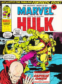 Cover Thumbnail for The Mighty World of Marvel (Marvel UK, 1972 series) #165