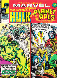 Cover Thumbnail for The Mighty World of Marvel (Marvel UK, 1972 series) #232