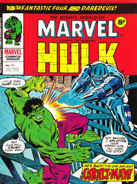 Cover Thumbnail for The Mighty World of Marvel (Marvel UK, 1972 series) #183