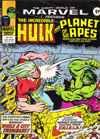 Cover Thumbnail for The Mighty World of Marvel (Marvel UK, 1972 series) #234