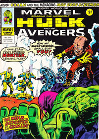 Cover Thumbnail for The Mighty World of Marvel (Marvel UK, 1972 series) #211