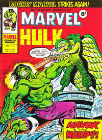 Cover Thumbnail for The Mighty World of Marvel (Marvel UK, 1972 series) #172