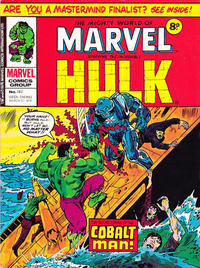 Cover Thumbnail for The Mighty World of Marvel (Marvel UK, 1972 series) #182