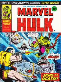 Cover Thumbnail for The Mighty World of Marvel (Marvel UK, 1972 series) #164