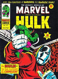 Cover Thumbnail for The Mighty World of Marvel (Marvel UK, 1972 series) #141