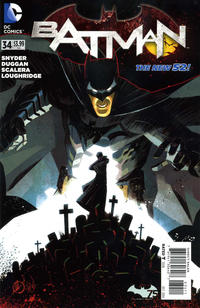Cover Thumbnail for Batman (DC, 2011 series) #34
