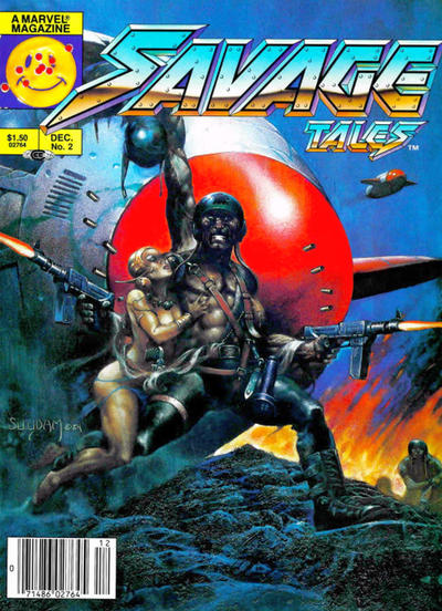 Cover for Savage Tales (Marvel, 1985 series) #2