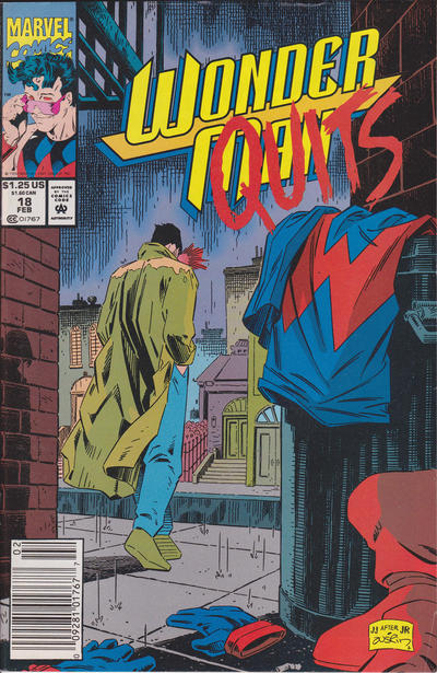 Cover for Wonder Man (Marvel, 1991 series) #18 [Newsstand]