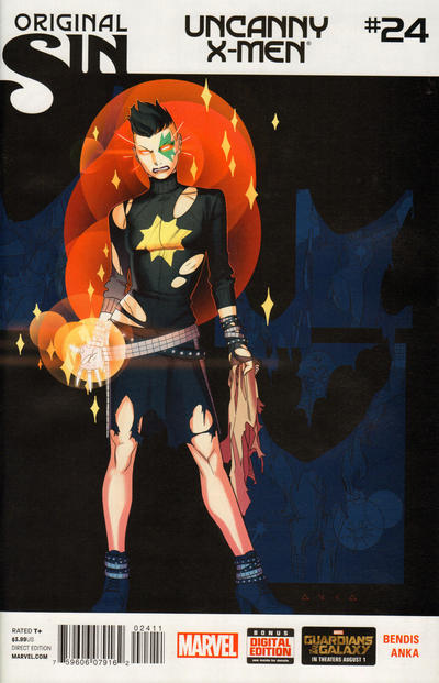 Cover for Uncanny X-Men (Marvel, 2013 series) #24