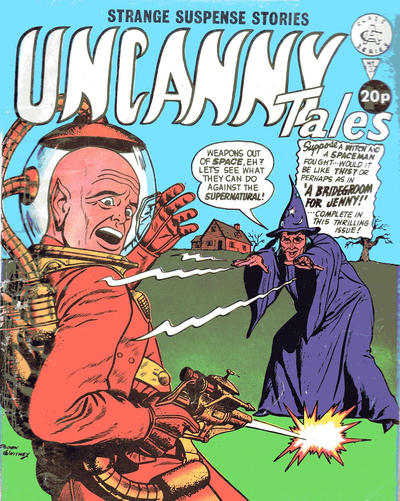 Cover for Uncanny Tales (Alan Class, 1963 series) #137