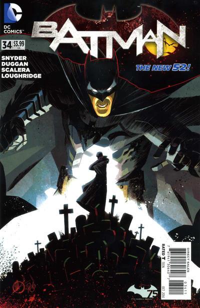 Cover for Batman (DC, 2011 series) #34