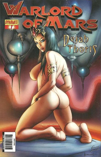 Cover for Warlord of Mars: Dejah Thoris (Dynamite Entertainment, 2011 series) #7 [Cover C - Alé Garza Cover]