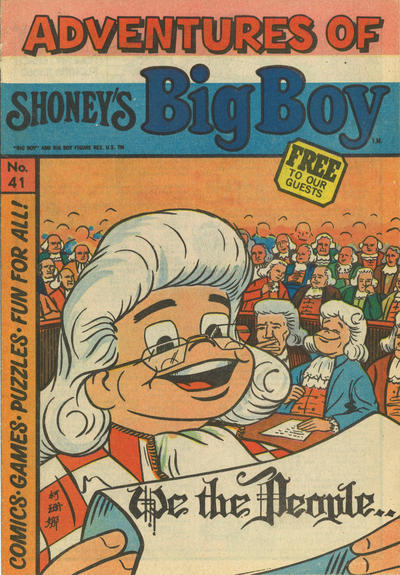 Cover for Adventures of Big Boy (Paragon Products, 1976 series) #41