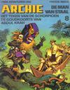 Cover for Archie de Man van Staal (Oberon, 1980 series) #8 - Het teken van de schorpioen/De goudkoorts van Abdul Krah