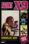 Cover for Agent X9 (Semic, 1976 series) #1/1981