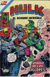 Cover for Hulk el Hombre Increíble (Editorial Novaro, 1979 series) #73