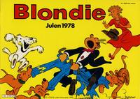 Cover Thumbnail for Blondie (Hjemmet / Egmont, 1941 series) #1978