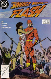 Cover Thumbnail for Flash (DC, 1987 series) #10 [Direct]