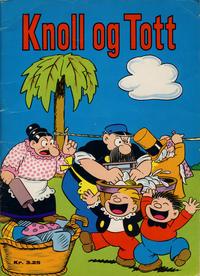 Cover Thumbnail for Knoll og Tott [Knold og Tot] (Hjemmet / Egmont, 1911 series) #1967