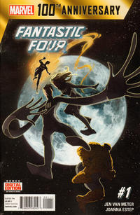 Cover Thumbnail for 100th Anniversary Special: Fantastic Four (Marvel, 2014 series) #1