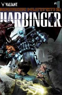 Cover Thumbnail for Armor Hunters: Harbinger (Valiant Entertainment, 2014 series) #1 [Cover B - Chromium Cover]